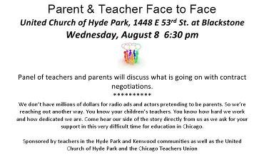 Parents united for responsible education blog archive join join chicago teachers and me in hyde park wednesday altavistaventures Images