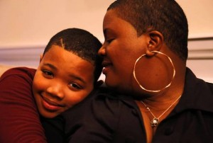 Hadiya Pendleton's mother, Cleopatra, and brother, Nathaniel, Jr.